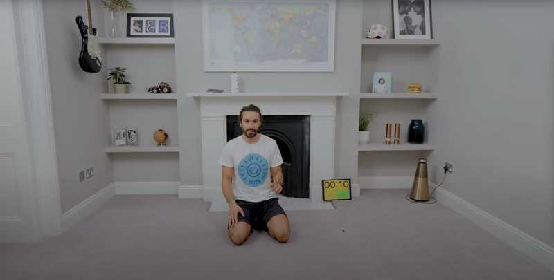 Joe Wicks uses Seconds Interval Timer app | Runloop
